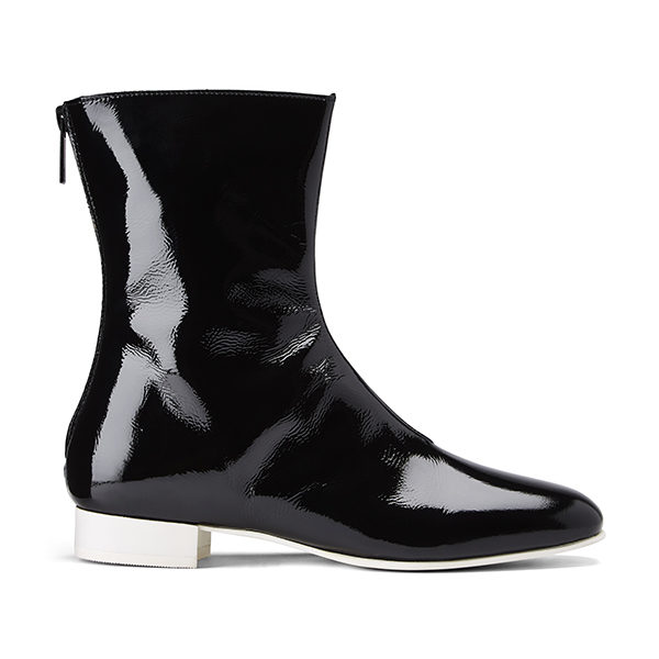 Ops&Ops No12 boots Liquorice, side view