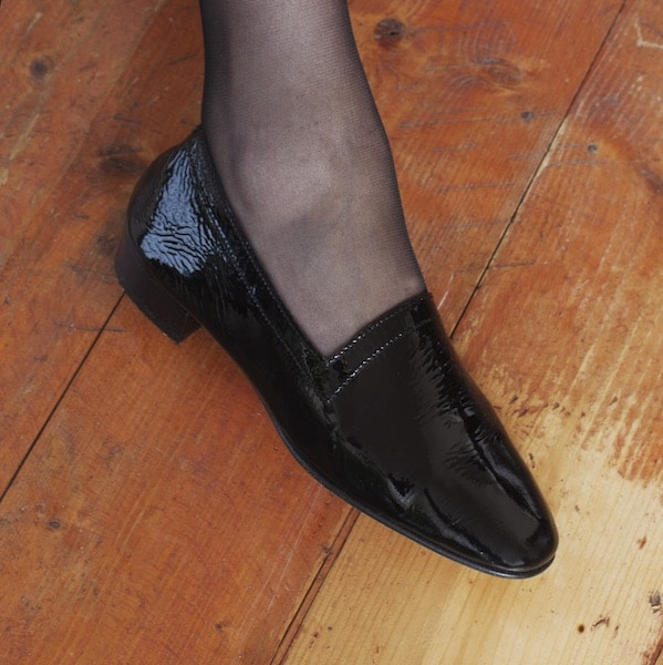 Ops&Ops No11 Black Patent leather heels