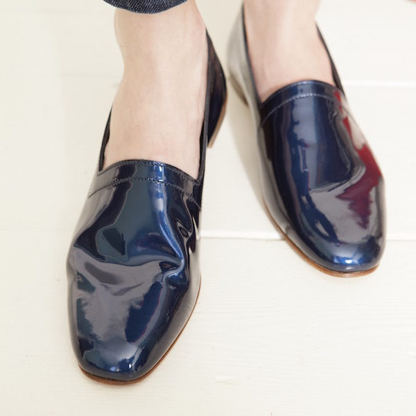 Ops&Ops No10 Bumper Car Blue flats
