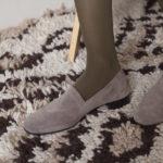 No11 Mink Suede heels