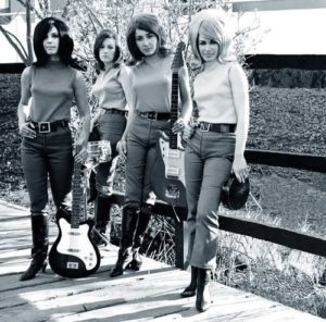 The Pretty Kittens in go-go boots and jeans