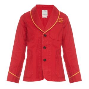 Visvim Holmby embroidered denim jacket